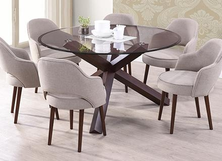 Round Dining Table For 6 Throughout 6 Seater Round Dining Tables (Image 19 of 20)