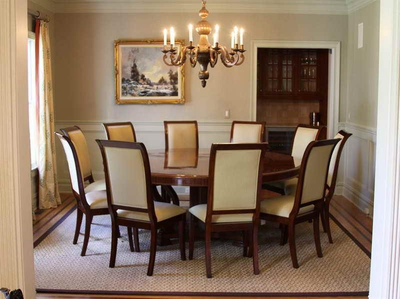 Round Dining Table For 8 Inside 8 Seater Round Dining Table And Chairs (View 4 of 20)