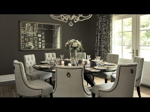 Round Dining Table Set For 8 – Youtube With Regard To Dining Tables Set For  (Image 17 of 20)