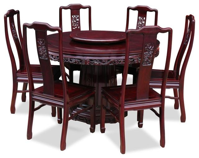 Round Dining Table With 6 Chairs – Starrkingschool For Dining Table Sets With 6 Chairs (Image 17 of 20)
