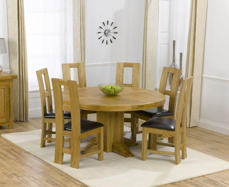 Round Dining Table With Six Chairs 48In Rosewood Flower And Bird In Dining Tables And 6 Chairs (Image 16 of 20)