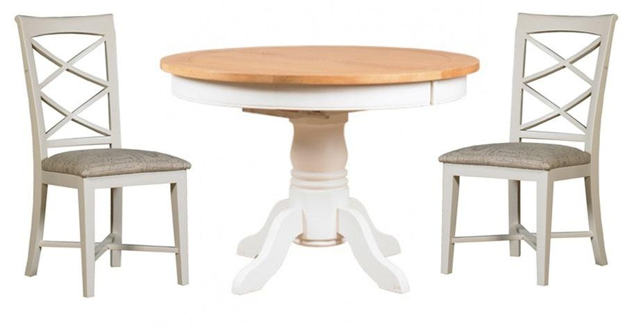 Round Extendable Tables For Round Extending Dining Tables And Chairs (View 15 of 20)