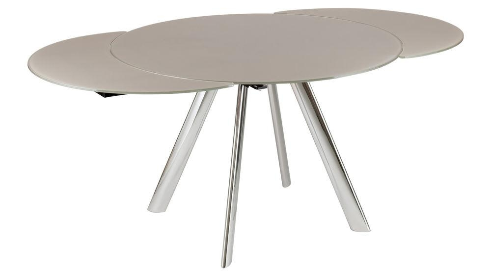 Round Extendable Tables Intended For Glass Round Extending Dining Tables (Image 15 of 20)