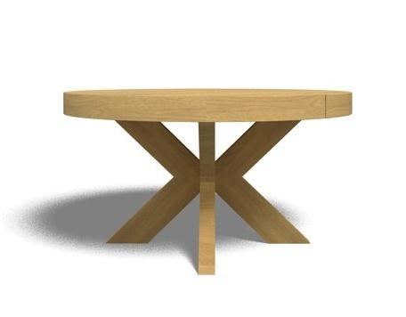 Round Extending Dining Table Intended For Extendable Round Dining Tables (View 8 of 20)