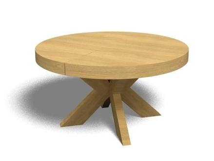 Round Extending Dining Table Throughout Round Extending Dining Tables And Chairs (View 16 of 20)