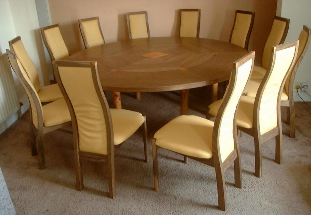 Round Extending Kitchen Table In Circular Extending Dining Tables And Chairs (Image 18 of 20)