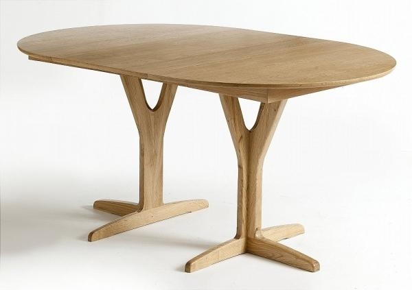 Round Extending Oak Dining Table | Modern Furnitures Inside Round Extending Dining Tables (View 19 of 20)