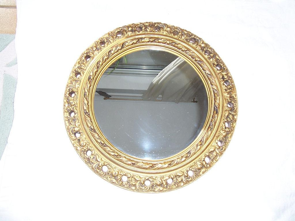Round Gilt Mirror | In Neath, Neath Port Talbot | Gumtree With Regard To Round Gilt Mirror (Image 15 of 20)