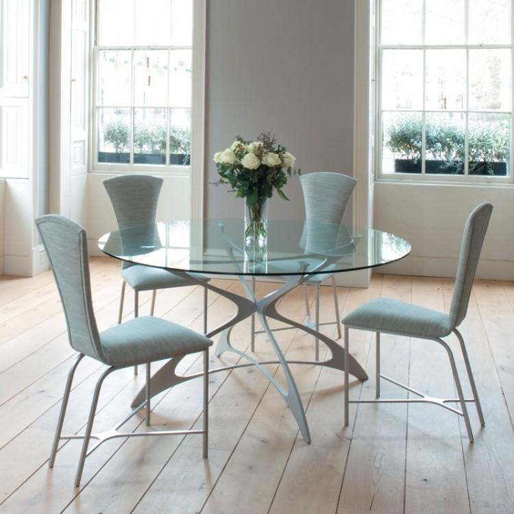 Round Glass Dining Table Ikea With Regard To Ikea Round Dining Tables Set (View 3 of 20)