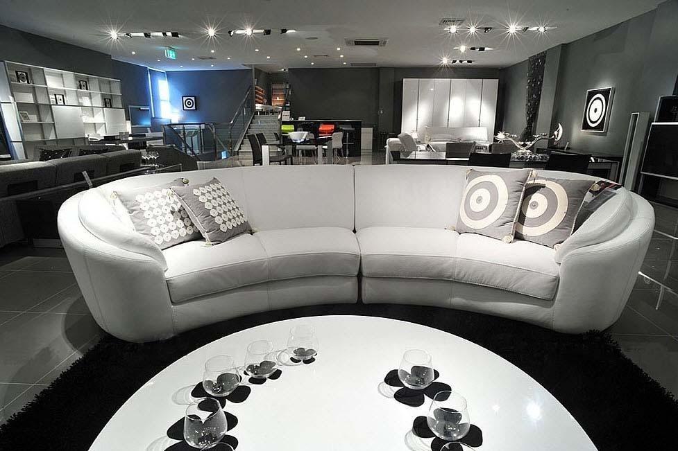 Round Lounge Sofa – Pueblosinfronteras Intended For Semi Sofas (Image 11 of 20)