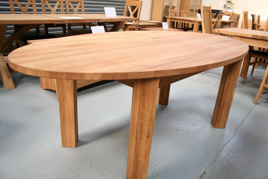 Round Oval Dining Table With Round Dining Tables Extends To Oval (Image 19 of 20)