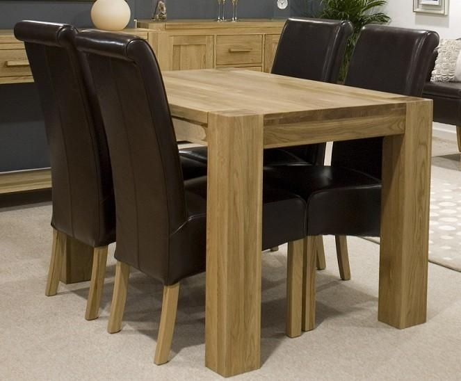 Round Pedestal Dining Table – Pedestal Dining Table That Works In Small Oak Dining Tables (Image 12 of 20)