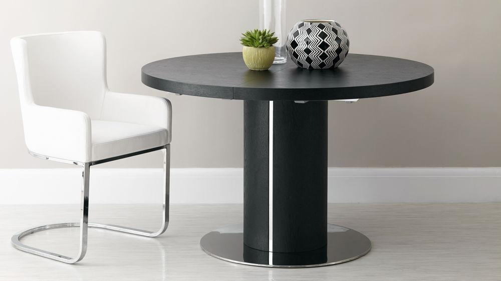 Round Pedestal Extending Dining Table Regarding Round Extending Dining Tables (View 9 of 20)