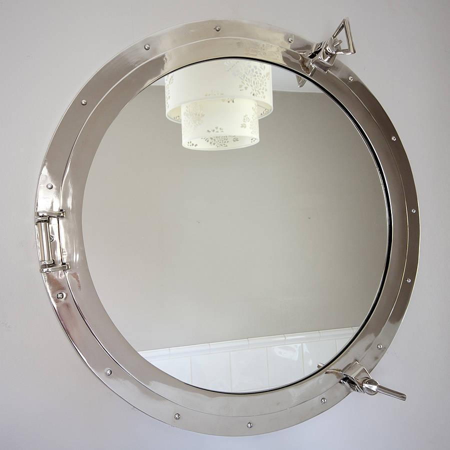 Round Porthole Mirrordecorative Mirrors Online Intended For Porthole Mirrors For Sale (Image 17 of 20)