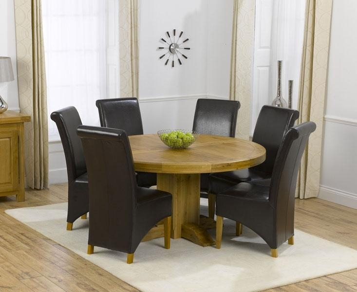 Round Tables That Seat 6 – Starrkingschool In Round 6 Seater Dining Tables (Image 18 of 20)