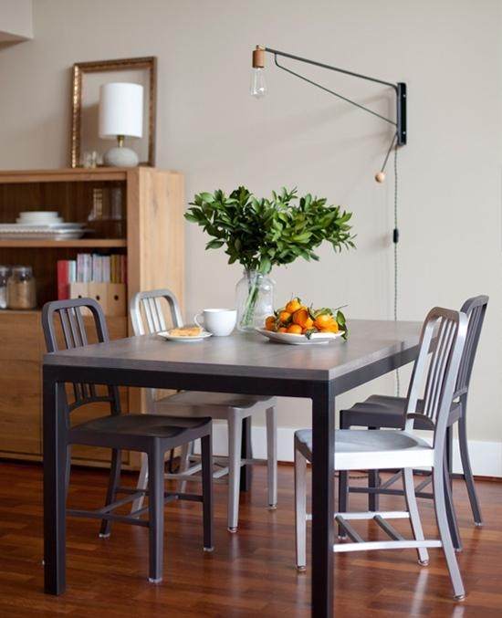 Roundup: 10 Big Impact Lighting Installations You Won't Need An With Lamp Over Dining Tables (Image 17 of 20)