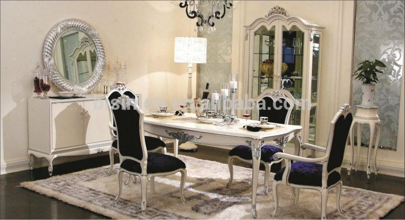 Royal Latest Design Rectangular Dining Table And Chairs Set(Bf01 Inside Royal Dining Tables (Image 14 of 20)