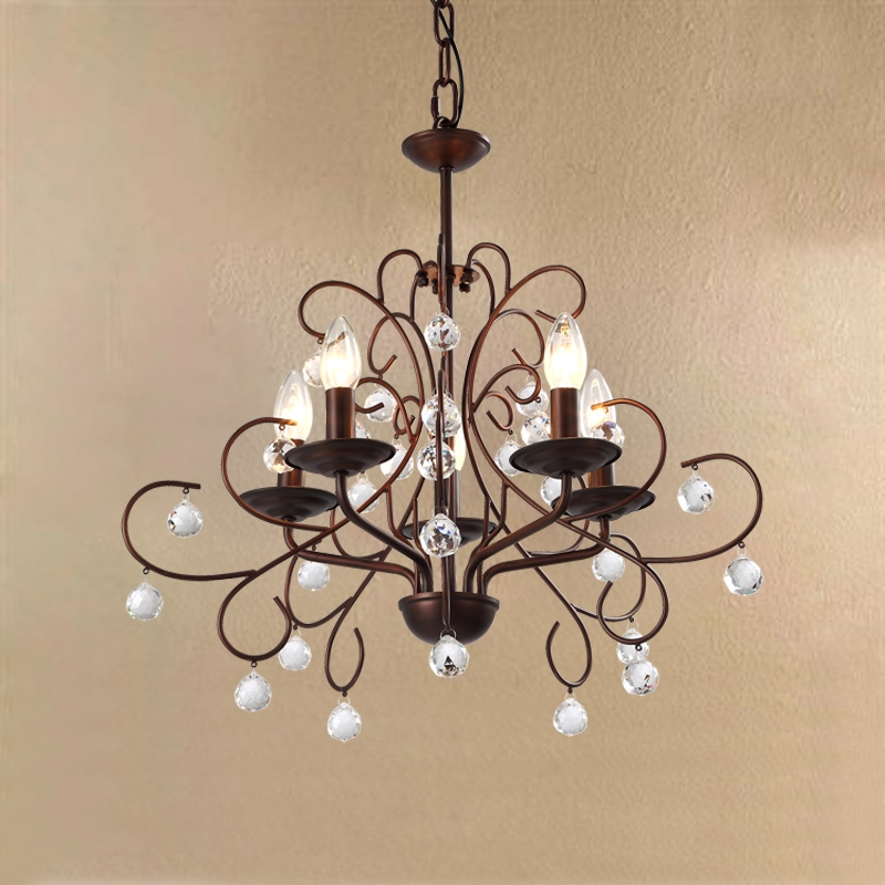 Rustic Crystal Chandelier Small Contemporary Rustic Crystal With Small Rustic Crystal Chandeliers (Image 22 of 25)
