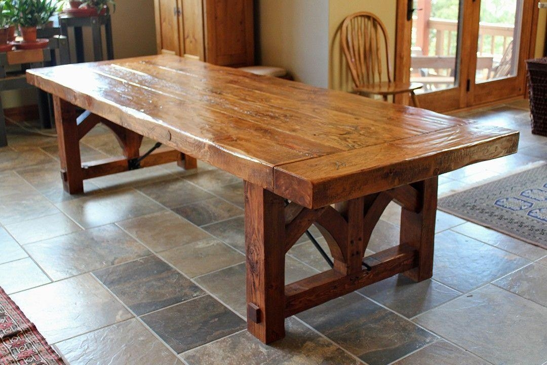Rustic Dining Tables | Custommade In Rustic Dining Tables (View 1 of 20)