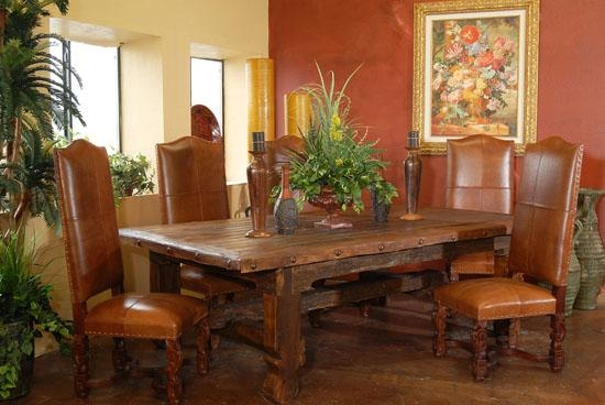 Rustic Furniture Sets Phoenix | Dining Room Tables & Chairs Throughout Phoenix Dining Tables (Image 18 of 20)