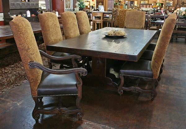 Rustic Furniture Sets Phoenix | Dining Room Tables & Chairs Within Phoenix Dining Tables (Image 19 of 20)
