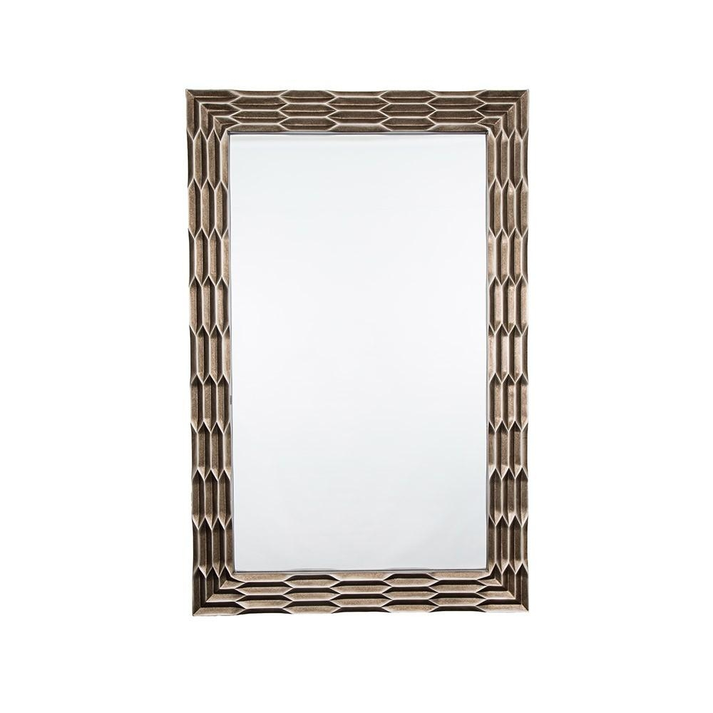 Rv Astley Champagne Distressed Bronze Wall Mirror | Houseology With Regard To Champagne Mirror (Image 18 of 20)