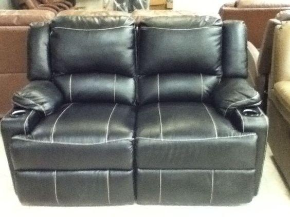 "Rv Furniture, Vinyl Dual Recliner,58"" Wide New Rv Travel Trailer For Rv Recliner Sofas (Image 12 of 20)"