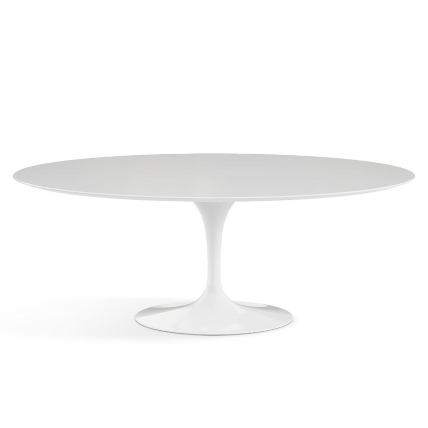 "Saarinen Dining Table – 78"" Oval 