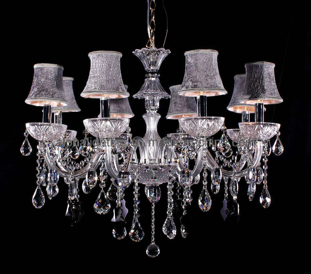 Sakojakjs June 2016 Pertaining To Crystal Chandeliers With Shades (View 6 of 25)