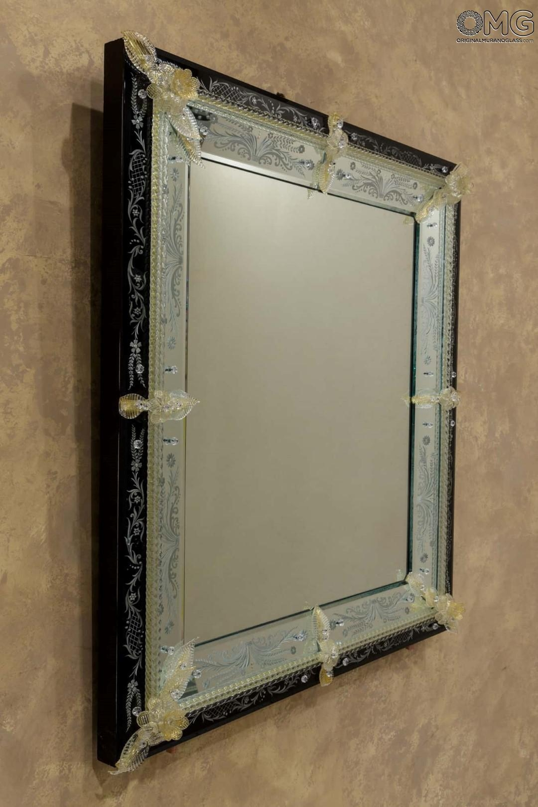 Sale, Offers And Discounts : Cesare – Venetian Mirror – Luxury Pertaining To Black Venetian Mirror (View 17 of 20)