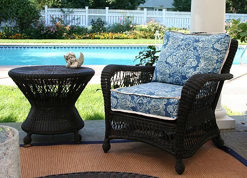 Saratoga Collection – Anacara Company Throughout Black Wicker Sofas (Image 14 of 20)