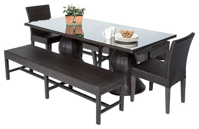 Saturn Dining Table With Armless Chairs And Benches, 5 Piece Set Pertaining To Dining Tables And 2 Chairs (Image 14 of 20)