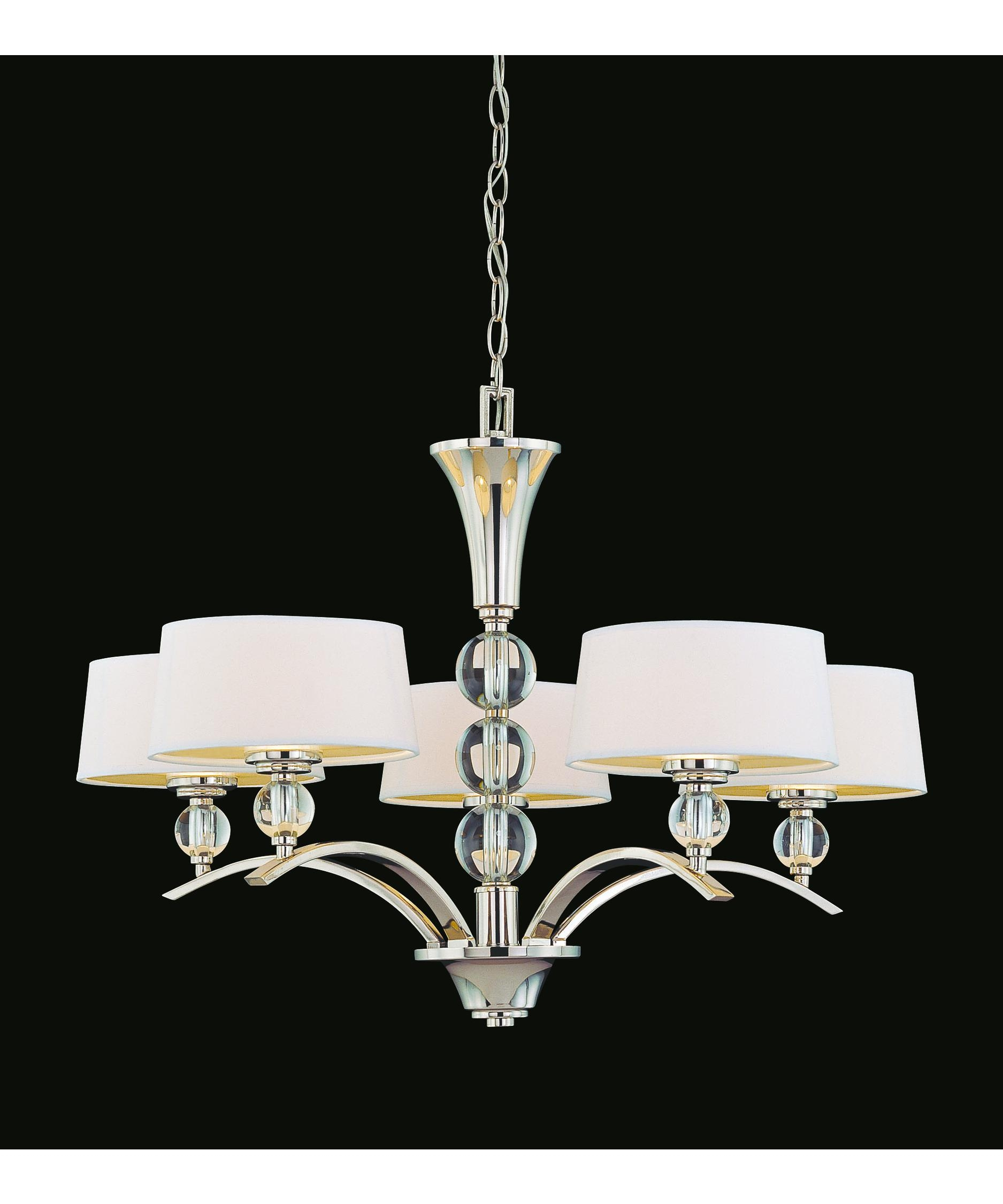 Savoy House 1 1035 5 109 Murren 30 Inch Wide 5 Light Chandelier With Savoy House Chandeliers (Image 7 of 25)