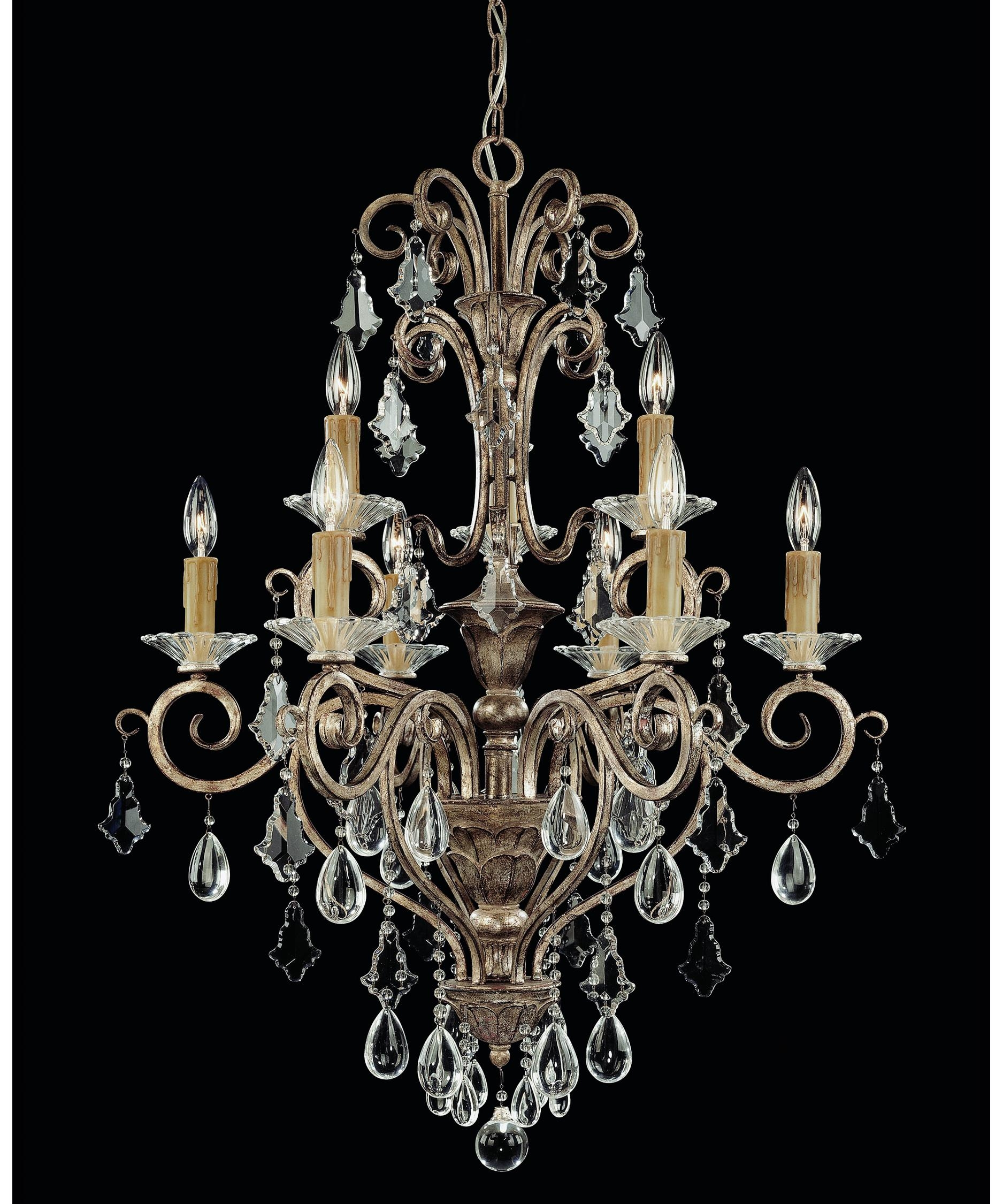 Savoy House 1 1398 9 256 Antoinette 28 Inch Wide 9 Light Within Savoy House Chandeliers (Image 8 of 25)