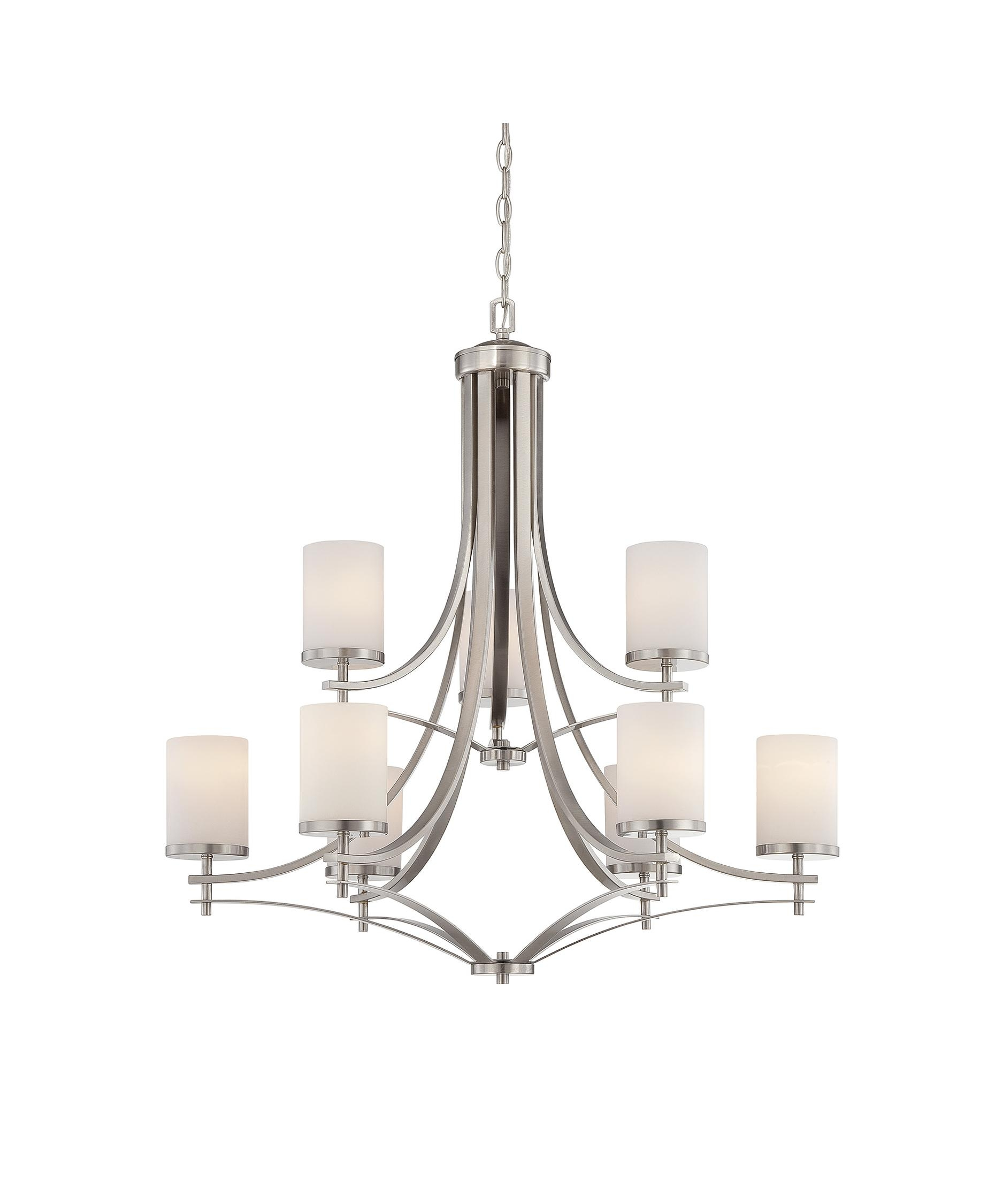 Savoy House 1 331 9 Colton 33 Inch Wide 9 Light Chandelier Pertaining To Savoy House Chandeliers (Image 14 of 25)