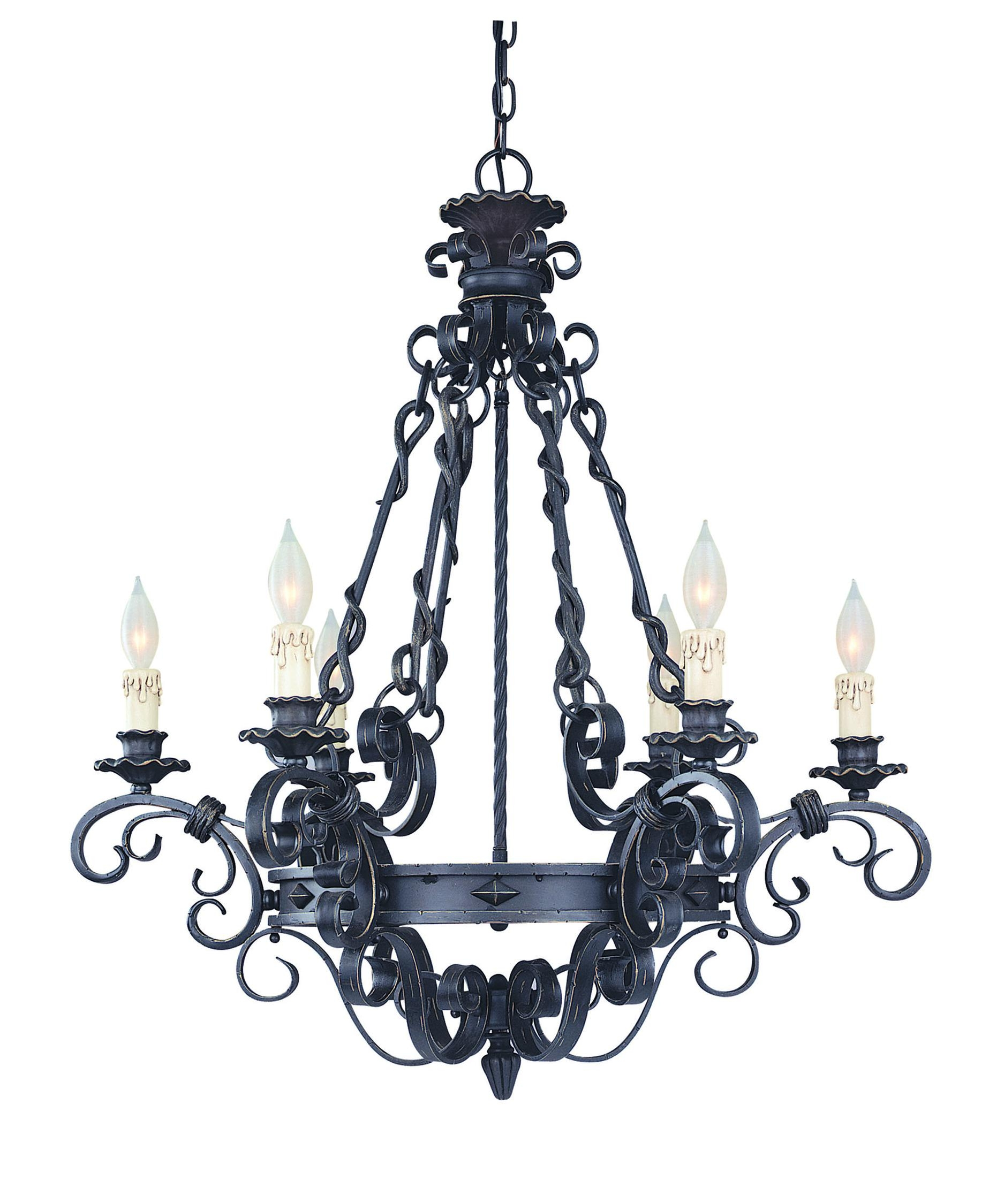 Savoy House 1 4314 6 17 Bourges 30 Inch Wide 6 Light Chandelier With Savoy House Chandeliers (Image 16 of 25)