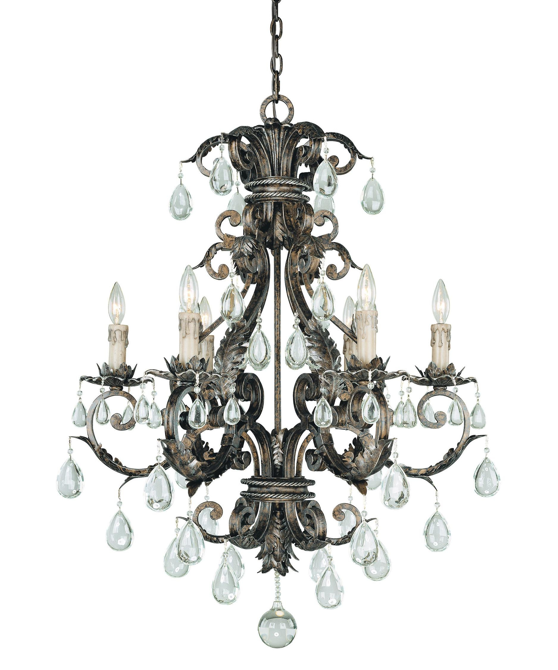 Savoy House 1 5306 6 8 Chastain 29 Inch Wide 6 Light Chandelier With Regard To Savoy House Chandeliers (Image 18 of 25)