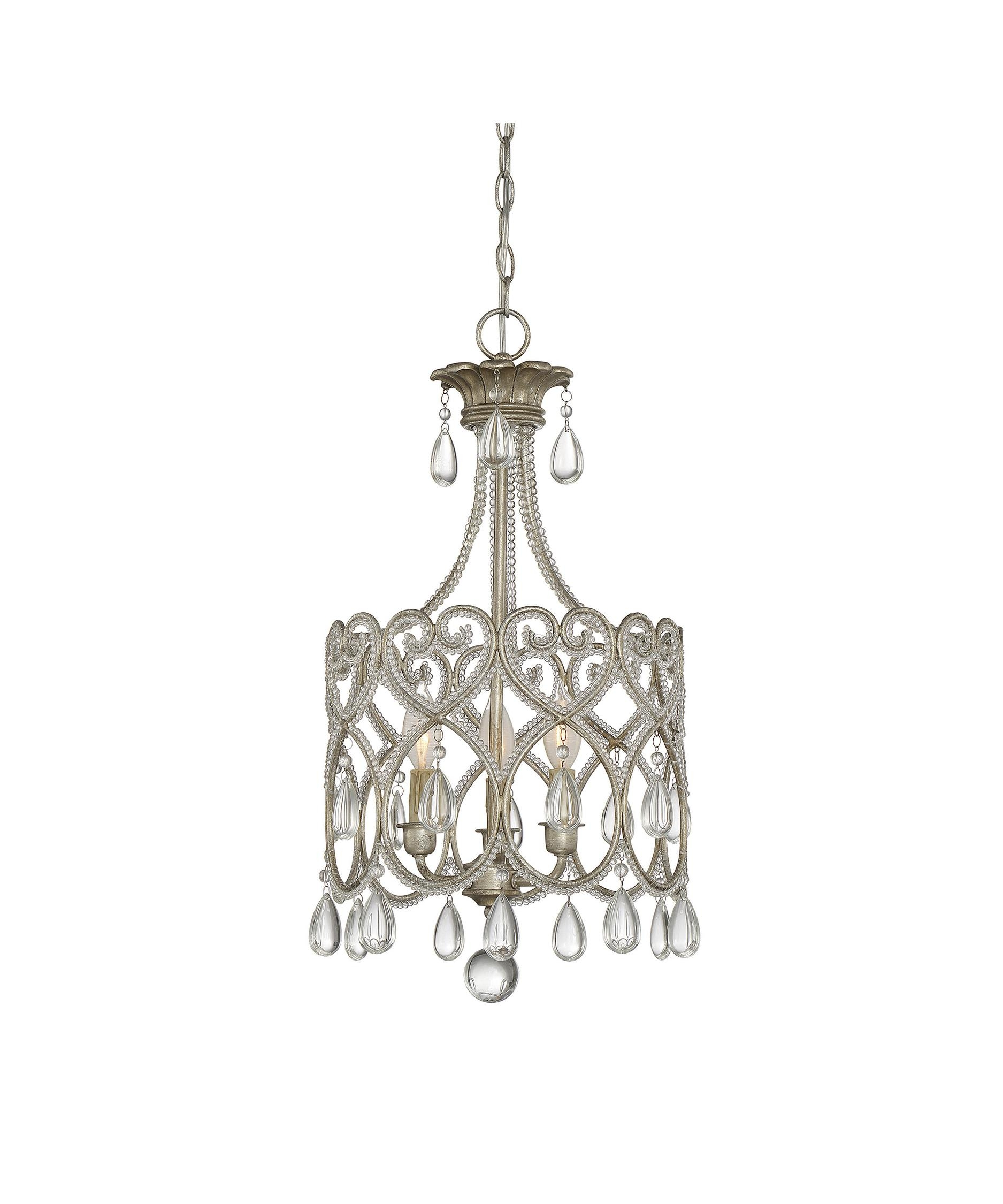 Savoy House 1 870 3 211 Mini Chandelier 13 Inch Wide 3 Light Mini Inside Savoy House Chandeliers (Image 20 of 25)
