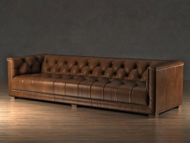 Savoy Sofa 3D Model | Restoration Hardware Within Savoy Leather Sofas (Image 18 of 20)