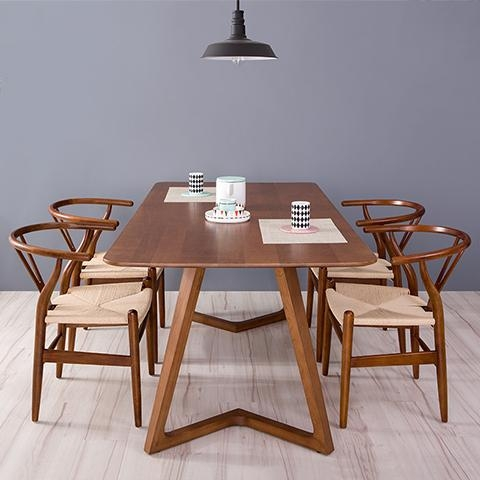 Scandinavian Dining Room Tables Magnus 240Cm Dining Table Solid With Scandinavian Dining Tables And Chairs (View 3 of 20)