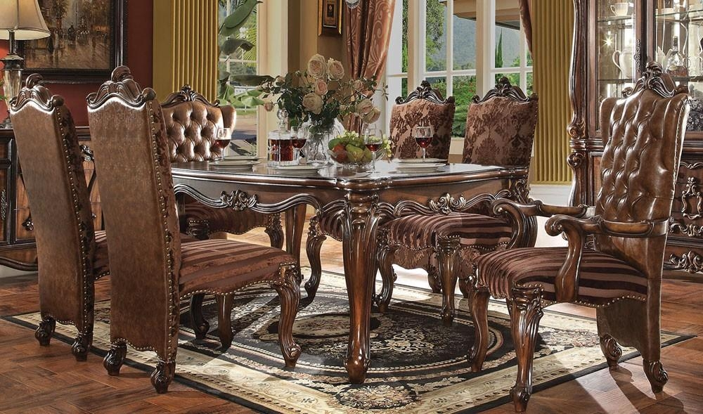 Scintillating Traditional Dining Room Sets Ideas – 3D House Throughout Traditional Dining Tables (View 2 of 20)