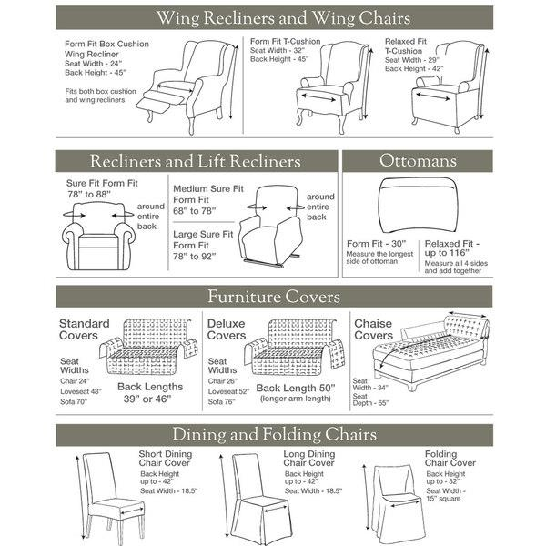 Scroll T Cushion Loveseat Slipcover – Free Shipping Today Pertaining To Loveseat Slipcovers T Cushion (Image 6 of 20)
