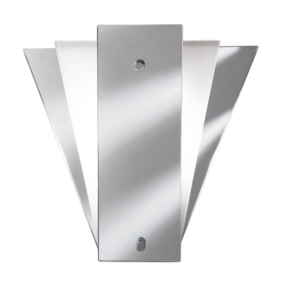 Searchlight 6201 Art Deco Style Mirror Wall Light With Mirror Within Art Deco Style Mirrors (Image 18 of 20)