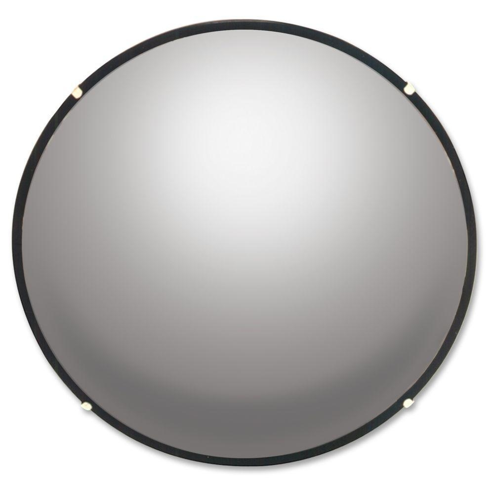 See All Round Glass Convex Mirror Seen12 – The Home Depot Regarding Round Black Mirrors (Image 18 of 20)