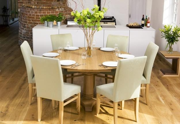 Selecting The Perfect Dining Table For Your Modern Room Decorating Regarding Dining Tables For Six (View 12 of 20)