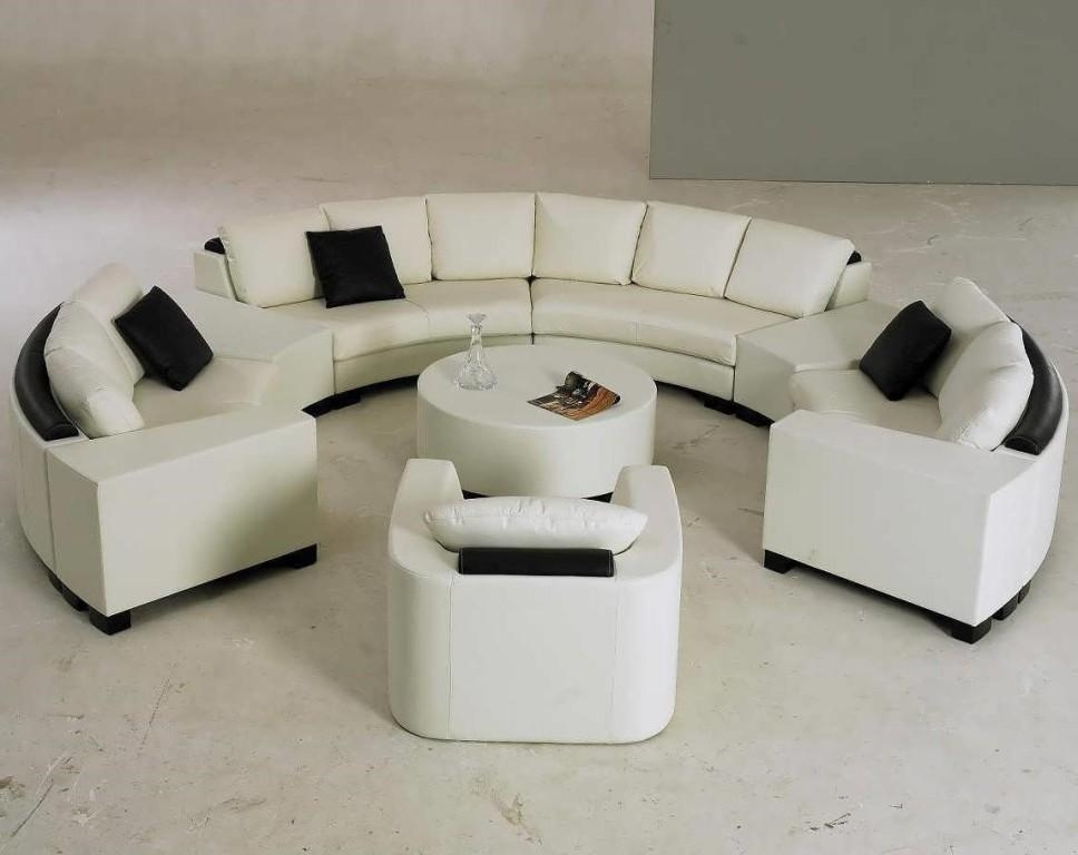 Semi Circle Sofa | Ira Design Throughout Semi Sofas (Image 17 of 20)