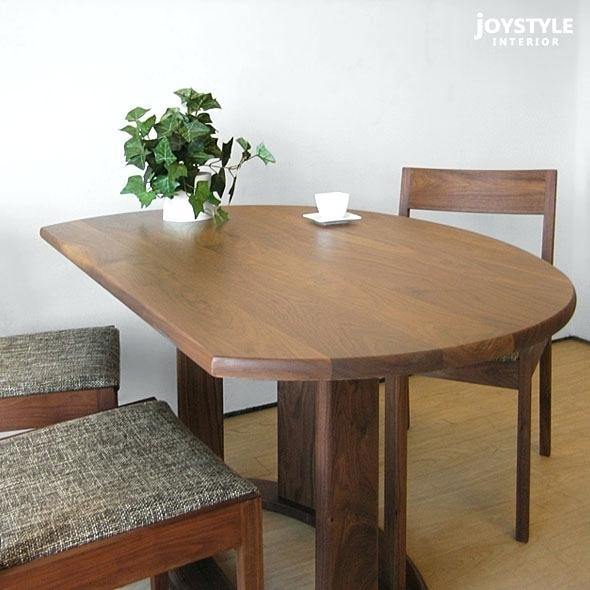 Semi Round Dining Table Custom Made Small Half Circle Dining Table For Round Half Moon Dining Tables (Image 17 of 20)