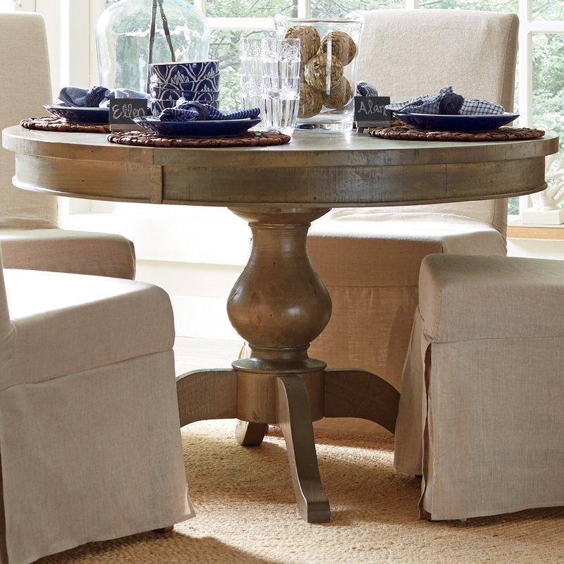 Seneca Dining Table & Reviews | Birch Lane Regarding Birch Dining Tables (Image 16 of 20)