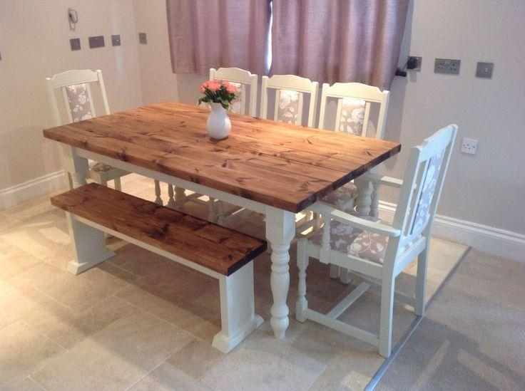 Sensational Ideas Shabby Chic Dining Table | All Dining Room Within Shabby Chic Extendable Dining Tables (Image 12 of 20)
