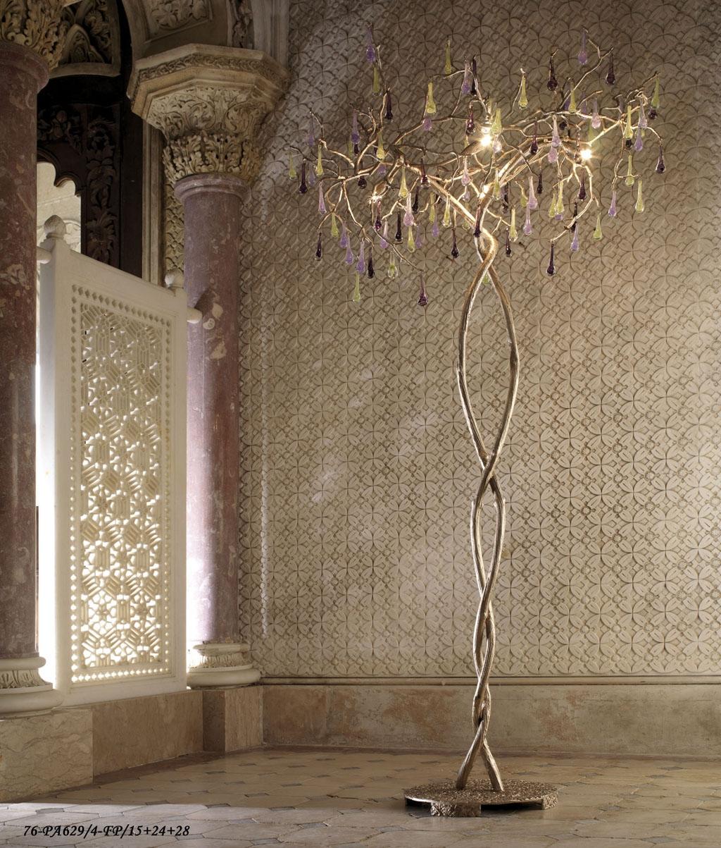 Serip Organic Lighting Bijout Chandelier Best In Show Pertaining To Standing Chandelier Floor Lamps (Image 21 of 25)